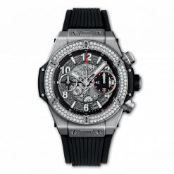 Hublot Big Bang Unico Titanium & Diamonds Men`s Watch 441.NX.1170.RX.1104