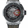 Hublot Scuderia Ferrari 90th Anniversary Polished Sapphire & Carbon Ceramic Men`s Watch 402.JQ.0123.NR