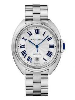 Cartier Clé De Cartier 18K White Gold Men's Watch preowned-WGCL0006