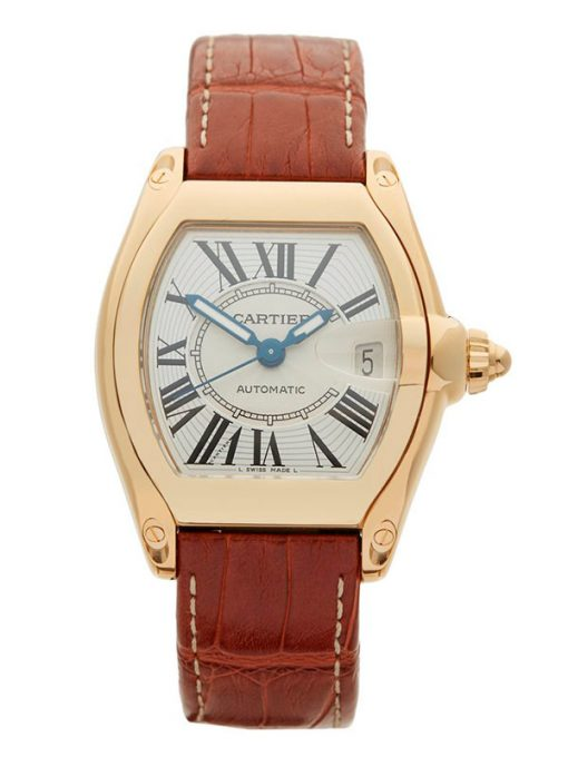 Cartier Roadster 18K Yellow Gold Men's Watch, preowned.w62005v2