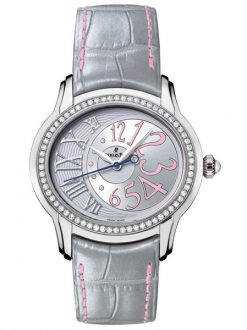 Audemars Piguet Millenary Stainless Steel & Diamonds Ladies Watch preowned.77301ST.ZZ.D009CR.01