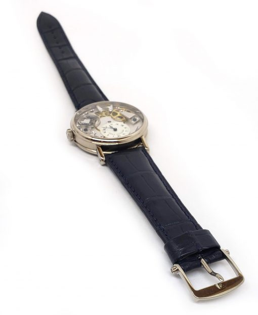 Breguet La Tradition 18K White Gold Men`s Watch, preowned.7027BB