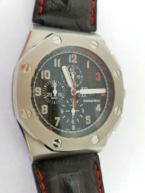 Audemars Piguet Royal Oak Offshore Shaquille O'Neal Chronograph Stainless Steel Men's Watch, 26133st.oo.a101cr.01 7