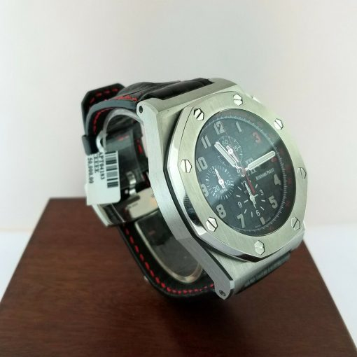 Audemars Piguet Royal Oak Offshore Shaquille O'Neal Chronograph Stainless Steel Men's Watch, 26133st.oo.a101cr.01 3
