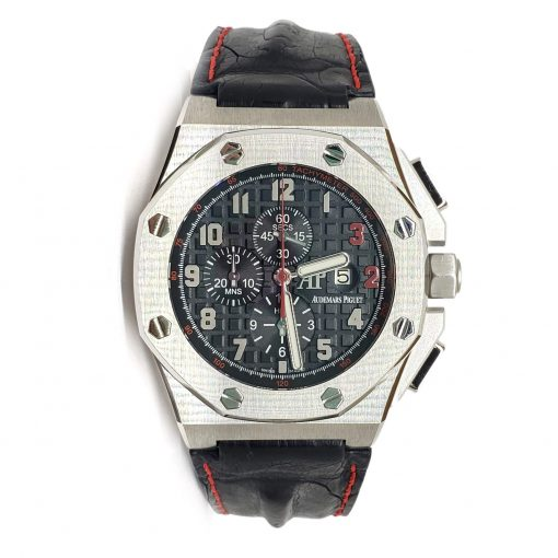 Audemars Piguet Royal Oak Offshore Shaquille O'Neal Chronograph Stainless Steel Men's Watch, 26133st.oo.a101cr.01