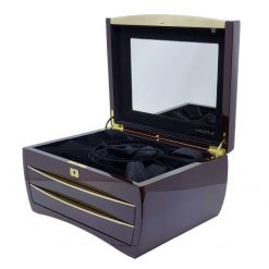 Buben & Zorweg Cosmopolitan Jewelry Collection Case in Cherry BZ-1205-00005