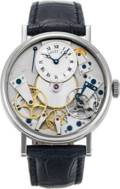 Breguet La Tradition 18K White Gold Men`s Watch Preowned-7027BB/11/9V6