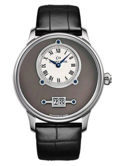 Jaquet Droz Grande Date 18k White Gold Men's Watch preowned.J016934201