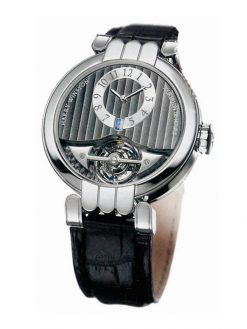 Harry Winston Premier Excenter Tourbillon 18K White Gold Men's Watch preowned.200/MMT40PL.T