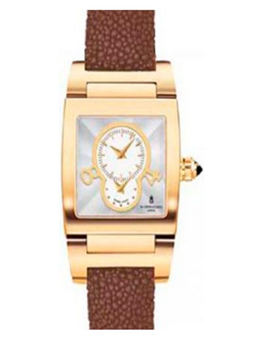 De Grisogono Instrumentino 18K Rose Gold Stingray Ladies Watch, preowned.TINO-N02/A