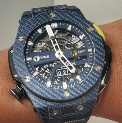Hublot Big Bang Unico Golf Carbon Blue Watch