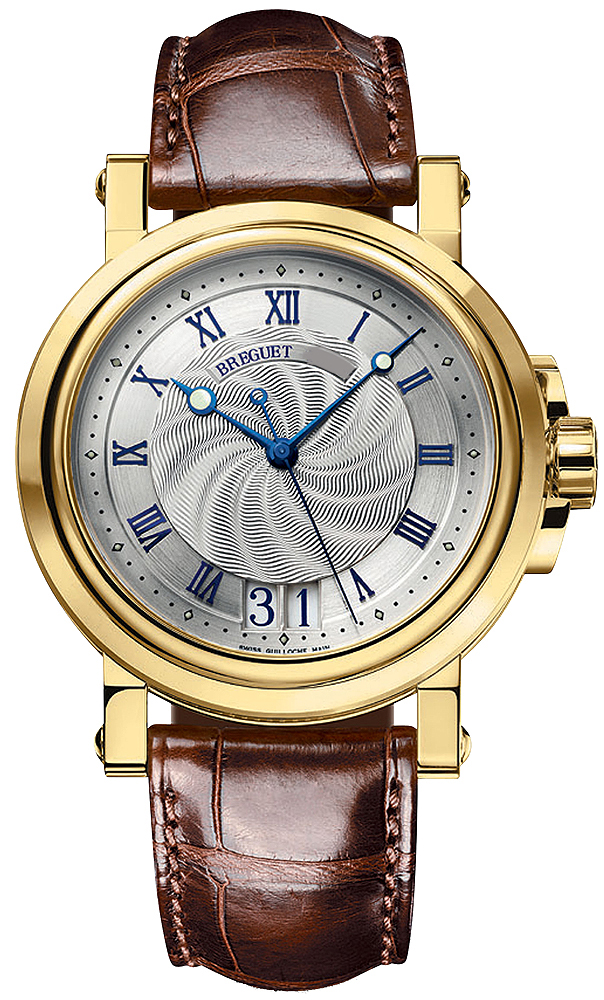 Brequet Marine 5817 18K Yellow Gold Men's Watch, Preowned.5817BA/12/9V8