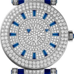 Franck Muller Double Mystery Ronde 18K White Gold Diamonds Ladies Watch Pre-owned.42DMD2RCDF