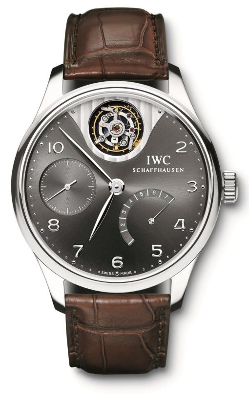 IWC Portuguese Tourbillon Mystère Limited Edition 18K White Gold Men's Watch, Preowned-IW5042-07