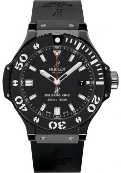 Hublot Big Bang King «Black Magic» Ceramic Men's Watch Preowned.312.CM.1120.RX