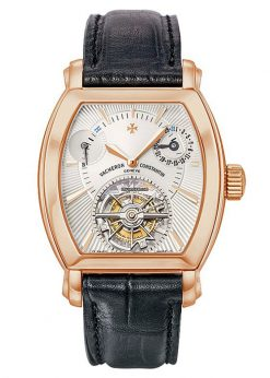 Vacheron Constantin Malte Tonneau Tourbillon 18K Rose Gold Men's Watch Preowned.30066/000r-8816
