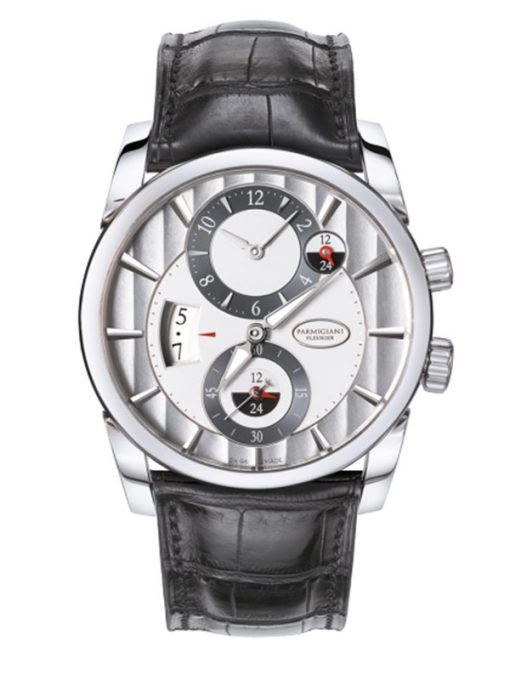 Parmigiani Fleurier Tonda Hemispheres 18K White Gold Men`s Watch, preowned. PFC231-1200100-HA1441