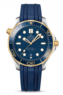 Omega Seamaster 300 Master Co-Axial Stainless Steel & 18K Yellow Gold 210.22.42.20.03.001