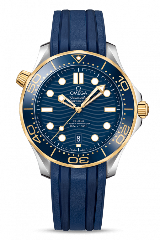 Omega Seamaster 300 Master Co-Axial Stainless Steel & 18K Yellow Gold, 210.22.42.20.03.001