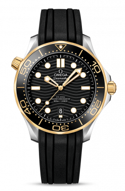 Omega Seamaster 300 Master Co-Axial Stainless Steel & 18K Yellow Gold 210.22.42.20.01.001