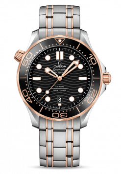 Omega Seamaster 300 Master Co-Axial Stainless Steel & 18K Sedna Gold 210.20.42.20.01.001