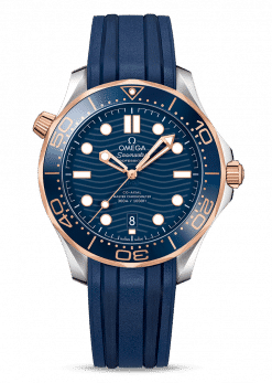 Omega Seamaster 300 Master Co-Axial Stainless Steel & 18K Sedna Gold 210.22.42.20.03.002