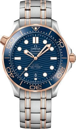 Omega Seamaster 300 Master Co-Axial Stainless Steel & 18K Sedna Gold 210.20.42.20.03.002