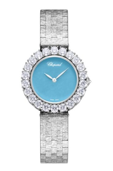 Chopard L'Heure Du 18K White Gold & Diamonds, 10A378-1004