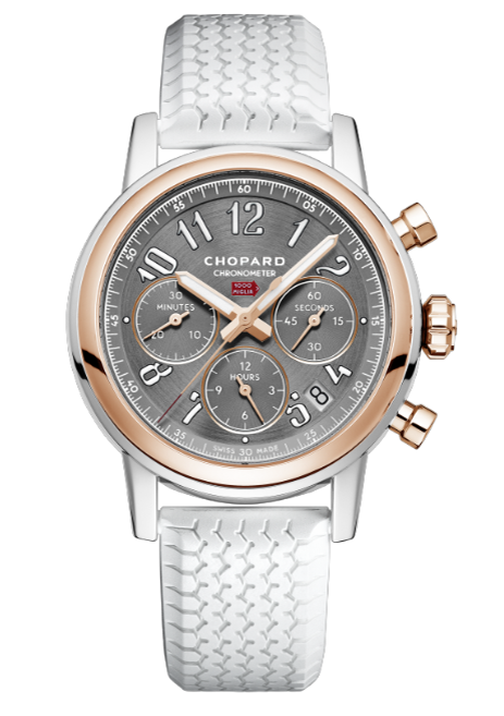 Chopard Mille Miglia Classic Chronograph Stainless Steel & 18K Rose Gold, 168588-6001