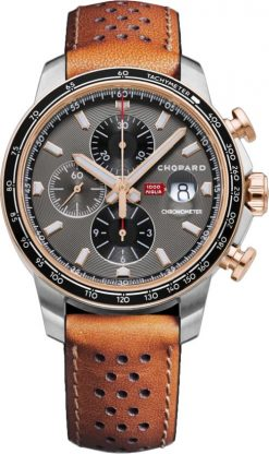 Chopard Mille Miglia GTS Chronograph Stainless Steel & 18K Rose Gold 168571-6002