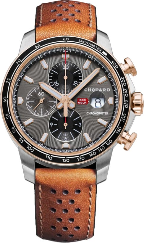 Chopard Mille Miglia GTS Chronograph Stainless Steel & 18K Rose Gold, 168571-6002