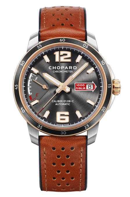 Chopard Mille Miglia GTS Power Control Stainless Steel & 18K Rose Gold, 168566-6001