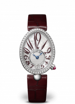 Breguet Reine De Naples 8918 18K White Gold & Diamonds 8918BB/5P/964/D00D