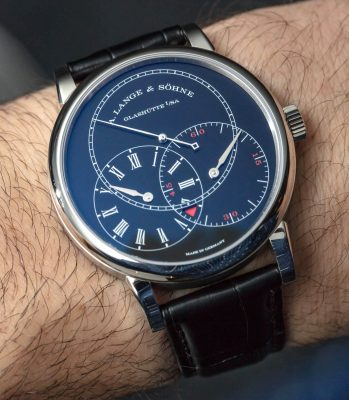 A. Lange & Sohne Richard Lange Jumping Seconds 252.029 Watch