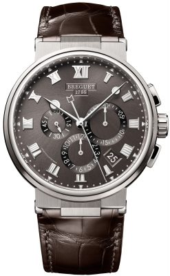Brequet Marine 5517 Chronograph Titanium Men's Watch 5527TI/G2/9WV
