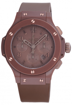Hublot Big Bang All Chocolate Ceramic Men's Watch Preowned.301.CC.3190.RC