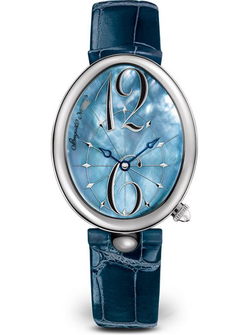 Breguet Reine De Naples 8967 Stainless Steel Ladies Watch, preowned.8967ST/V8/986