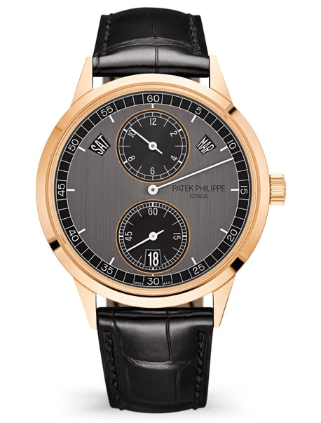 Patek Philippe Annual Calendar, Regulator Style Display 18K Rose Gold Men's Watch, 5235/50R-001