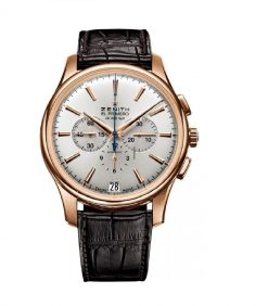 Zenith Captain Chronograph 18K Rose Gold Men's Watch preowned.18.2111.400/01.С498