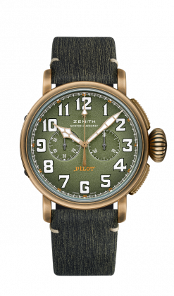 Pilot Type 20 Chronograph Advanture Bronze Men's Watch 29.2430.4069/63.I001