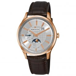Zenith Captain Moonphase 18K Rose Gold Men's Watch preowned.18.2140.691