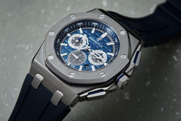 Updated Audemars Piguet Royal Oak Offshore Watch In Thinner Titanium Case and New Dial