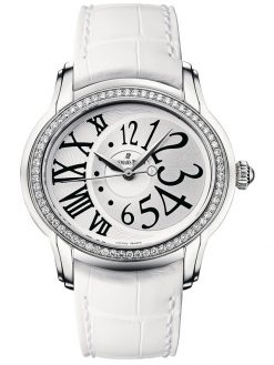 Audemars Piguet Millenary Stainless Steel & Diamonds Ladies Watch preowned.77301ST.ZZ.D015CR.01
