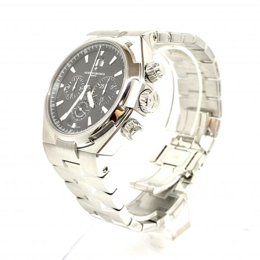 Vacheron Constantin Overseas Chronograph Stainless Steel Men's Watch, preowned.49150/B01A-9097 3