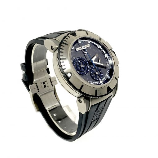 Harry Winston Ocean Sport Chronograph Zalium Rubber Men`s Watch, Preowned-OCSACH44 3