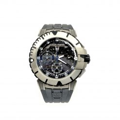 Harry Winston Ocean Sport Chronograph Zalium Rubber Men`s Watch OCSACH44
