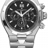 Vacheron Constantin Overseas Chronograph Stainless Steel Men's Watch, preowned.49150/B01A-9097 1