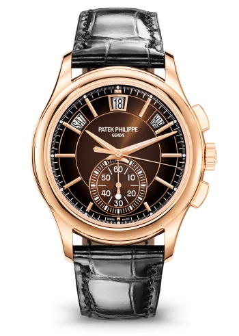 Patek Philippe Flyback Chronograph, Annual Calendar 18K Rose Gold Men's Watch, 5905R-001