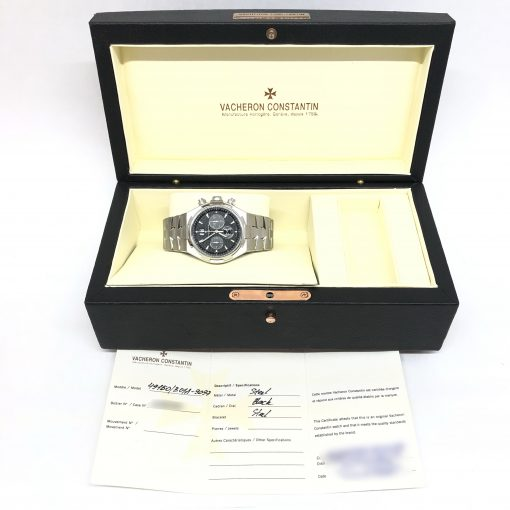 Vacheron Constantin Overseas Chronograph Stainless Steel Men's Watch, preowned.49150/B01A-9097 5
