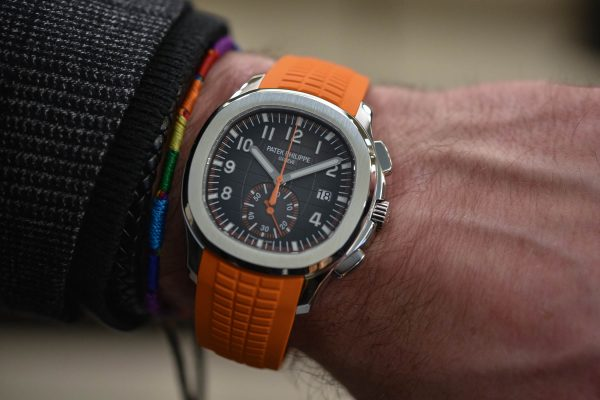 Patek Philippe Aquanaut 5968A Orange Strap